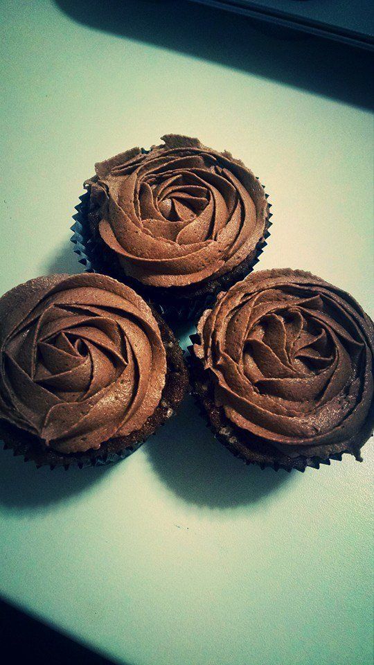 Cupcake Buttercream Chocolate