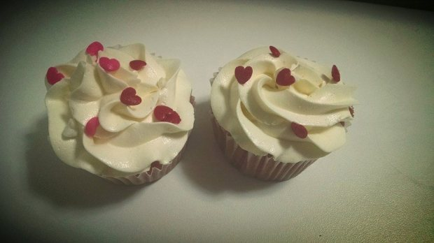 Cupcake Pink Velvet Cream Chesse Buttercream