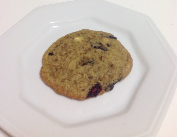 Cookies Chocolate Branco e Blueberry