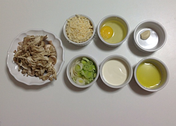 Torta de Cogumelos e Alho Poró