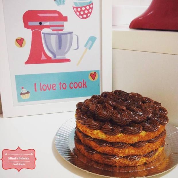 Naked Cake Ovomaltine