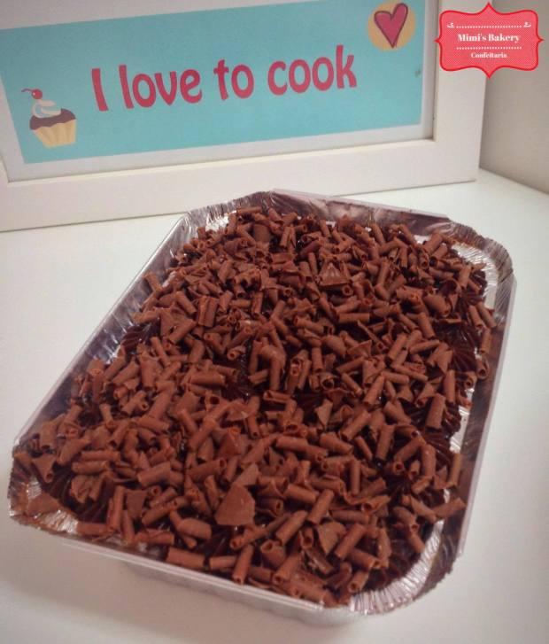 Brownie de Brigadeiro na Marmita