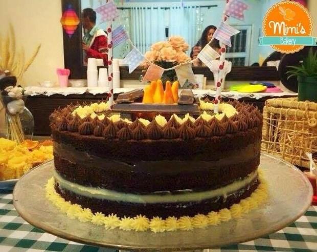 Naked Cake Junino