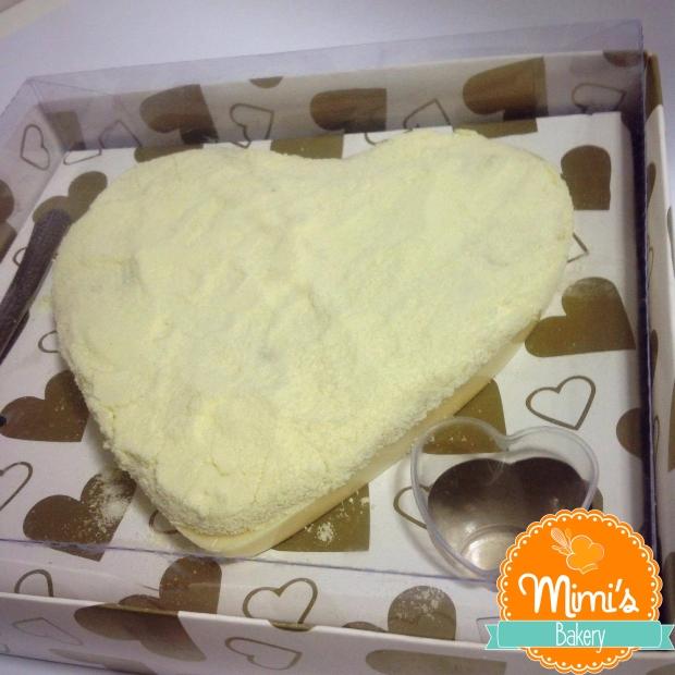 Coração de Chocolate Recheado