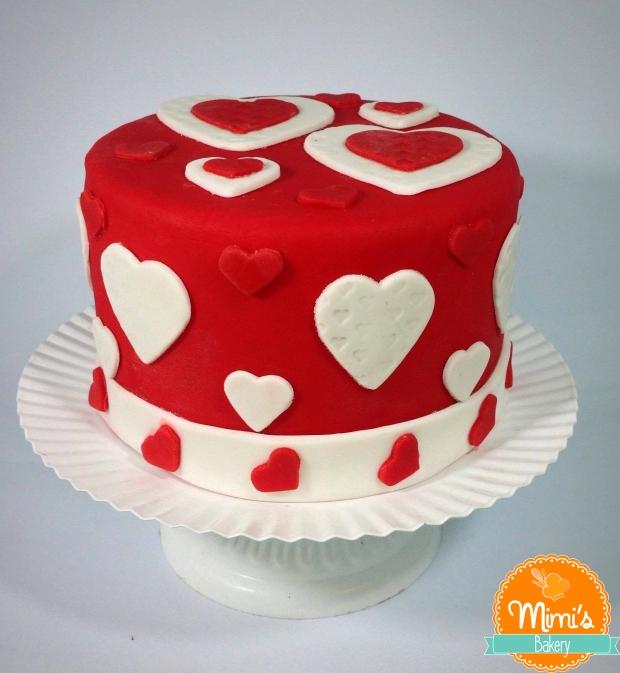 Bolo Decorado Dia dos Namorados
