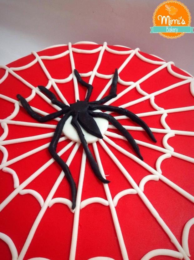 Bolo Decorado Homem Aranha