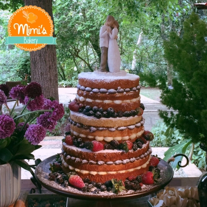 Naked Cake Mini Wedding