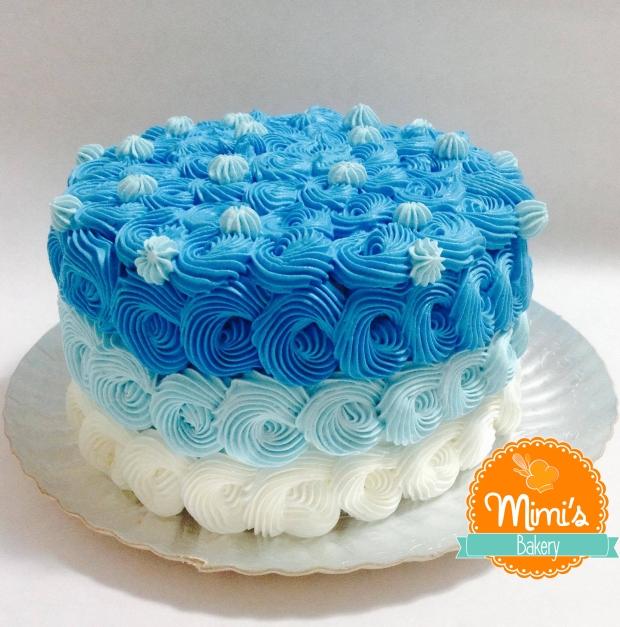 Rococó Chantininho Ombré Azul