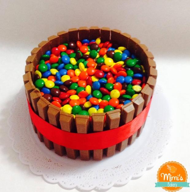 Bolo Kit Kat: Mousse de Chocolate