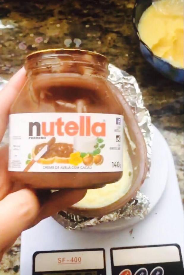 Ovo de Colher Ninho com Nutella