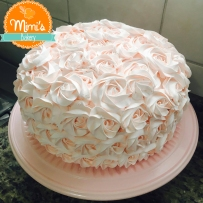 Rosette Cake: Candy Color Rosa