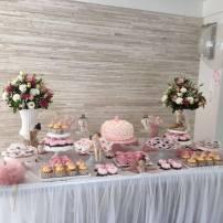 Festa Tema Bailarina - Rosette Cake