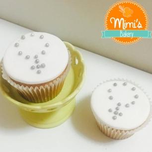 Cupcake Decorado: Laranja com Terço