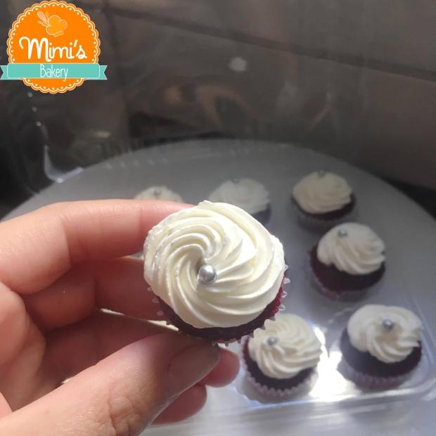 Baby Cupcake: Red Velvet, Ninho e Chantininho