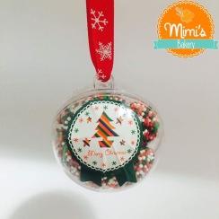Bolinha de Natal com Brigadeiro