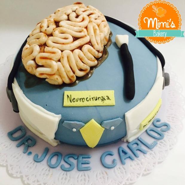 Bolo Decorado: Neurocirurgia