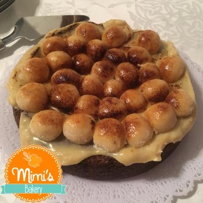 Torta Brownie Brulee