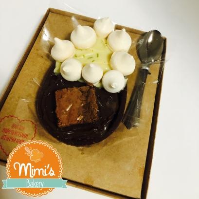 Ovo de Colher Torta de LImão com Brownie