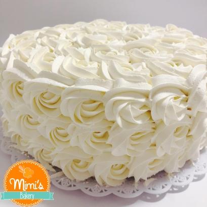 Rosette Cake Branco