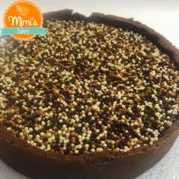 Torta de Chocolate com Caramelo Salgado