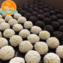 Brigadeiro de Chocolate e Limão Siciliano