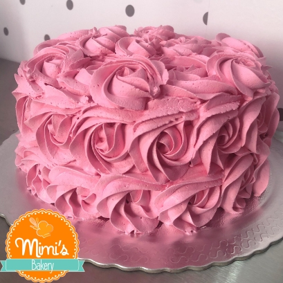Rosette Cake Rosa