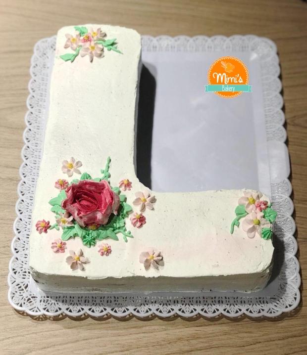 Letter Cake L