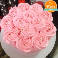Bolo Espatulado Rosette Cake