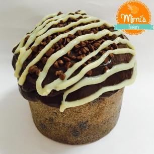 Chocotone Recheado Brigadeiro de Ninho com Chocolate