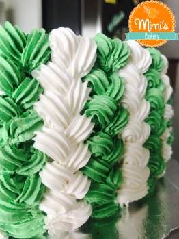 Bola Conchinha: Verde e Branco
