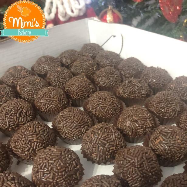 Brigadeiro tradicional de chocolate