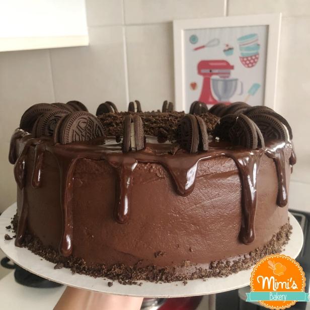Drip Cake Chocolate com Oreo II