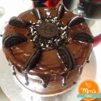 Drip Cake Nutella com Oreo