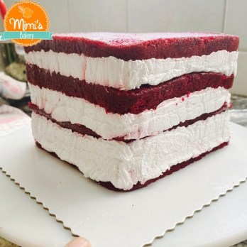 Red Velvet com Mousse de Cream Cheese